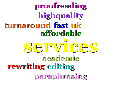 Our proofreading service will identify any mistake there is in your pape
